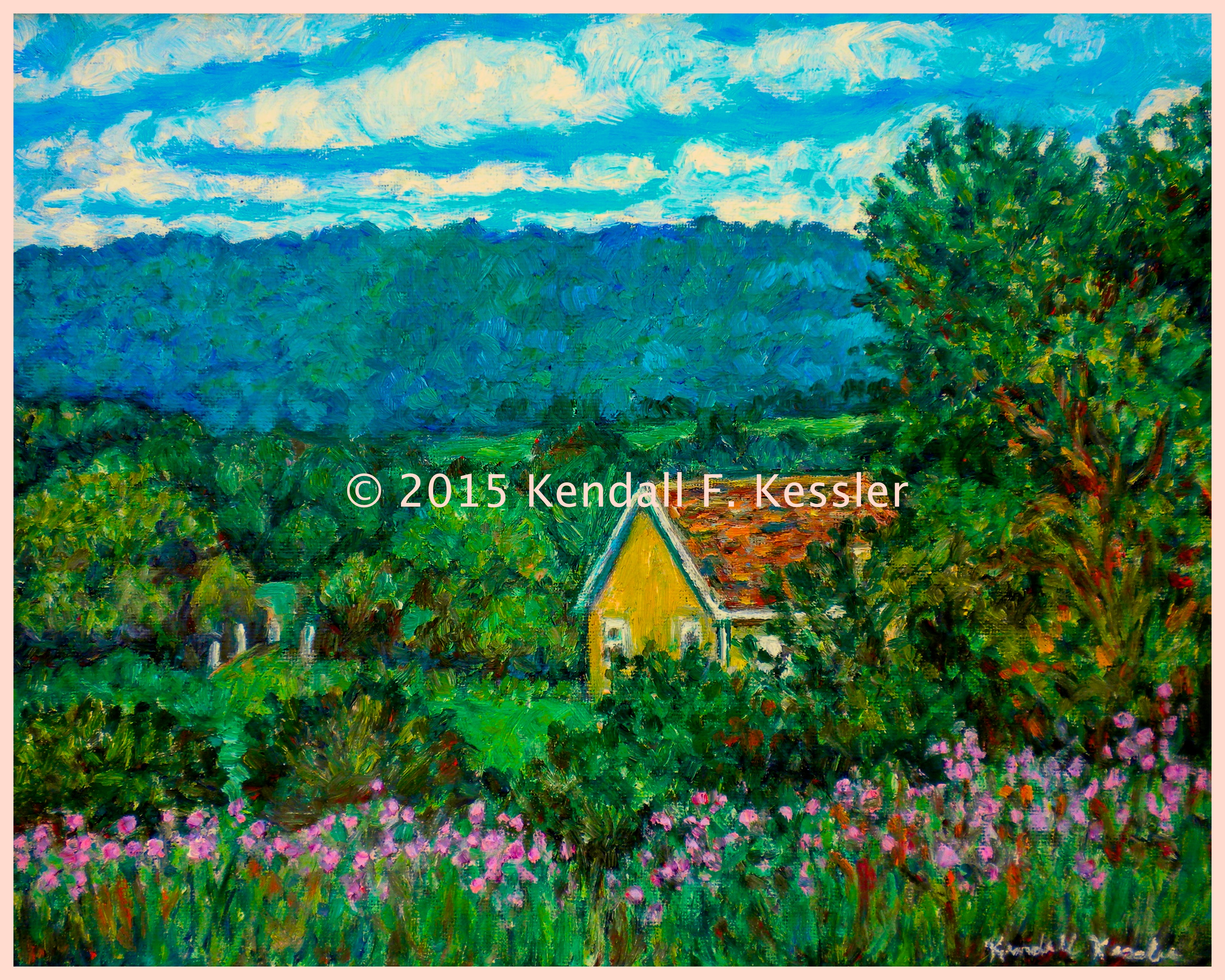 Blue Ridge Parkway Artist, More Floral Favorites, and Blast a Hole ...