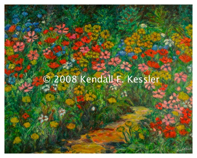 Kendall kessler lives to paint blue ridge parkway artist for Small paintings that sell